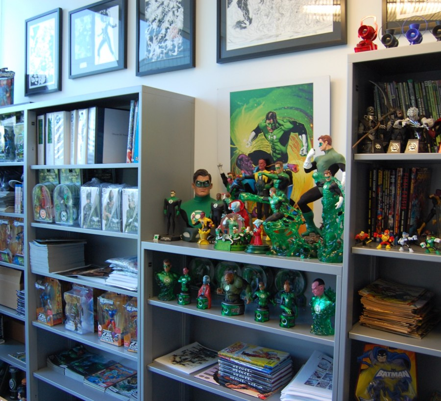 DC Comics Office - Desks