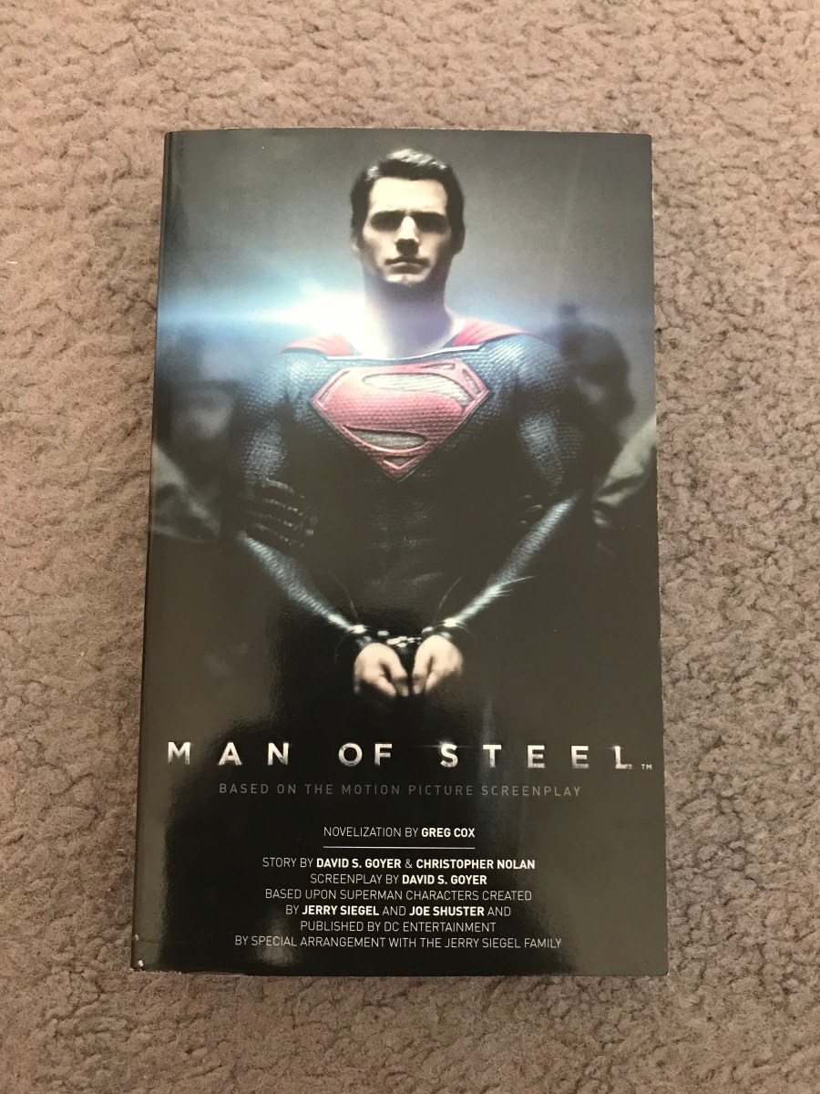 Man of Steel Novelization