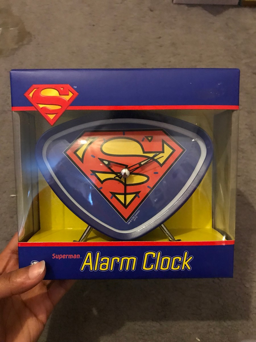 Superman Alarm Clock