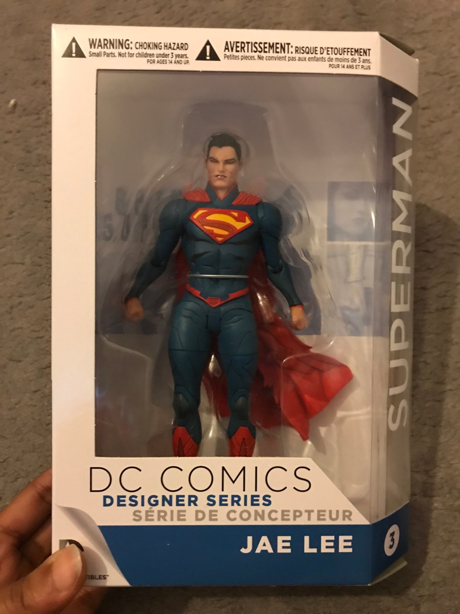 DC Comics: Designer Series – Superman Figurine