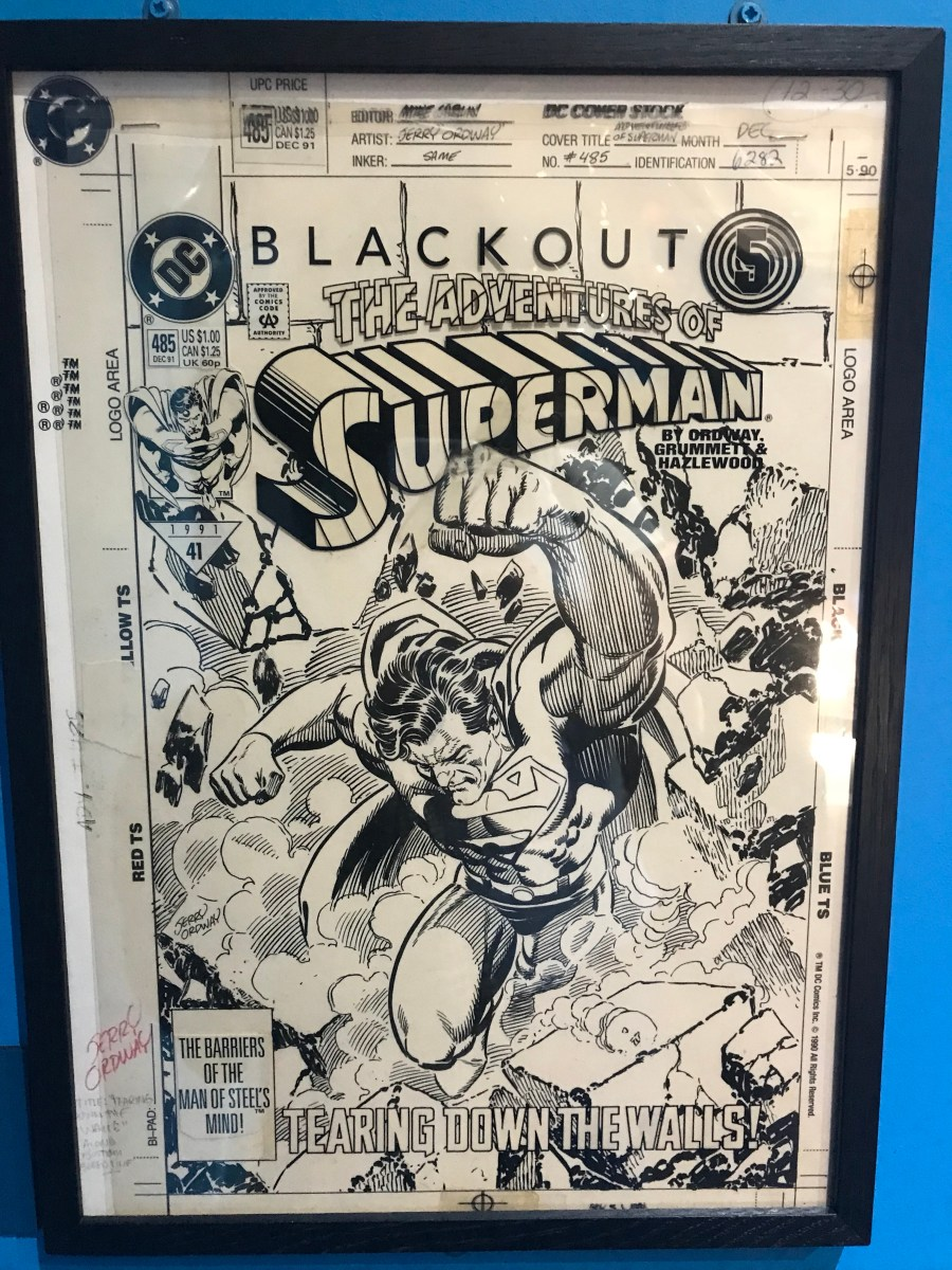 Jerry Ordway Original Artwork - The Adventures of Superman