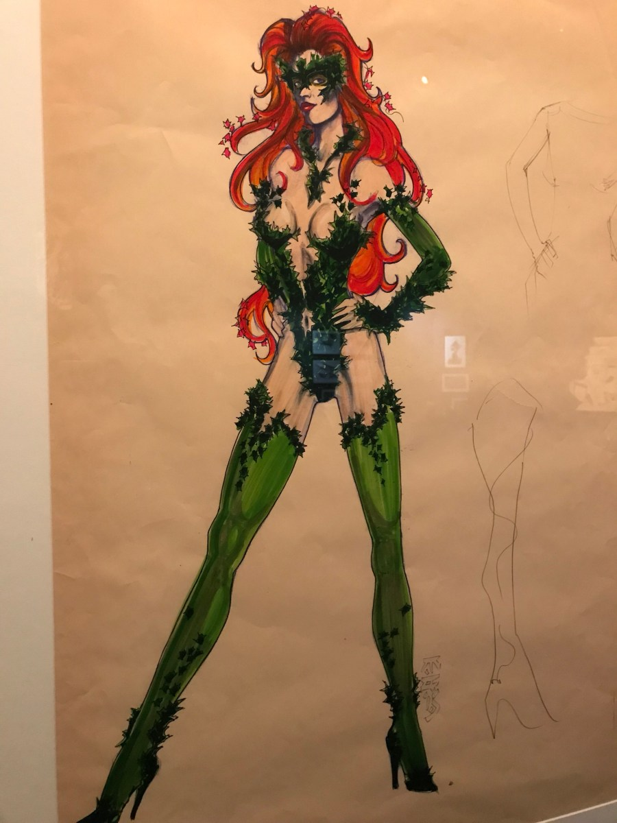 Poison Ivy Costume Design