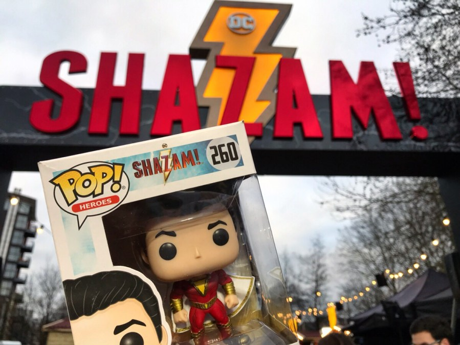Shazam Fun Fair Funko Pop