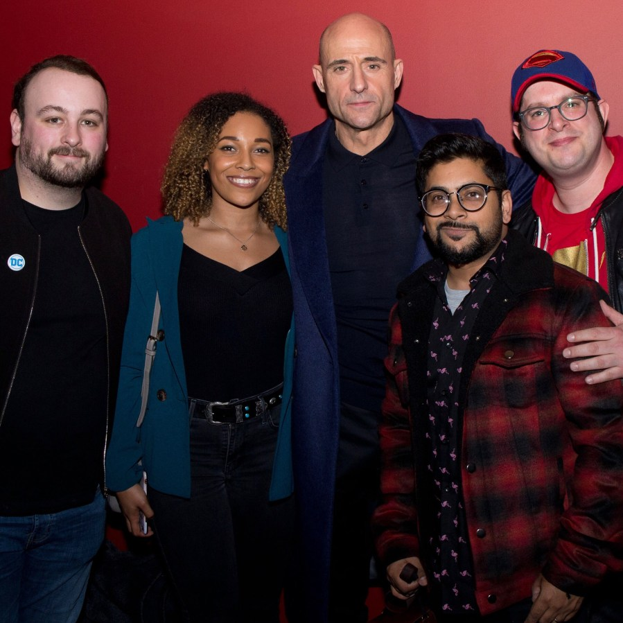 Mark Strong Shazam London Screening