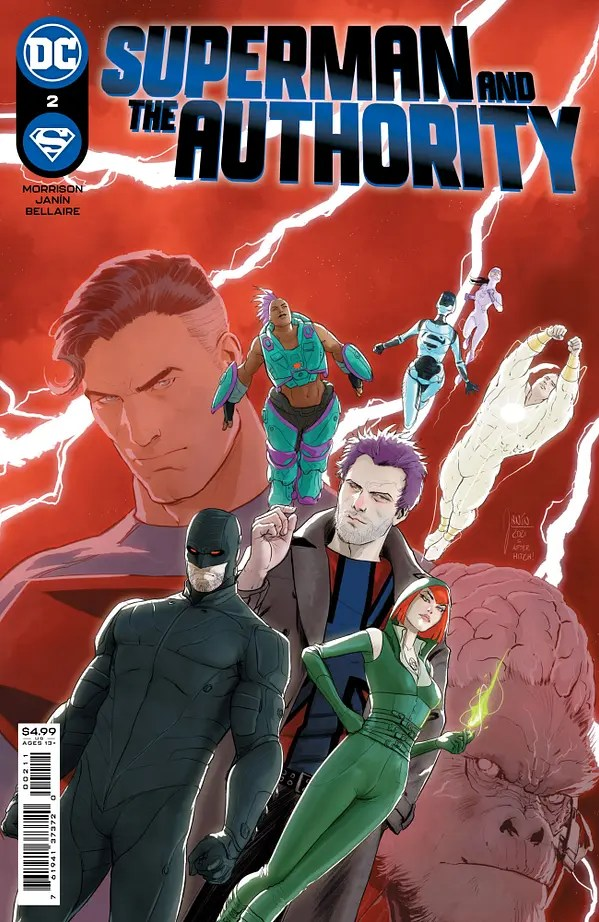 Superman And The Authority #2 Review   The Aspiring Kryptonian