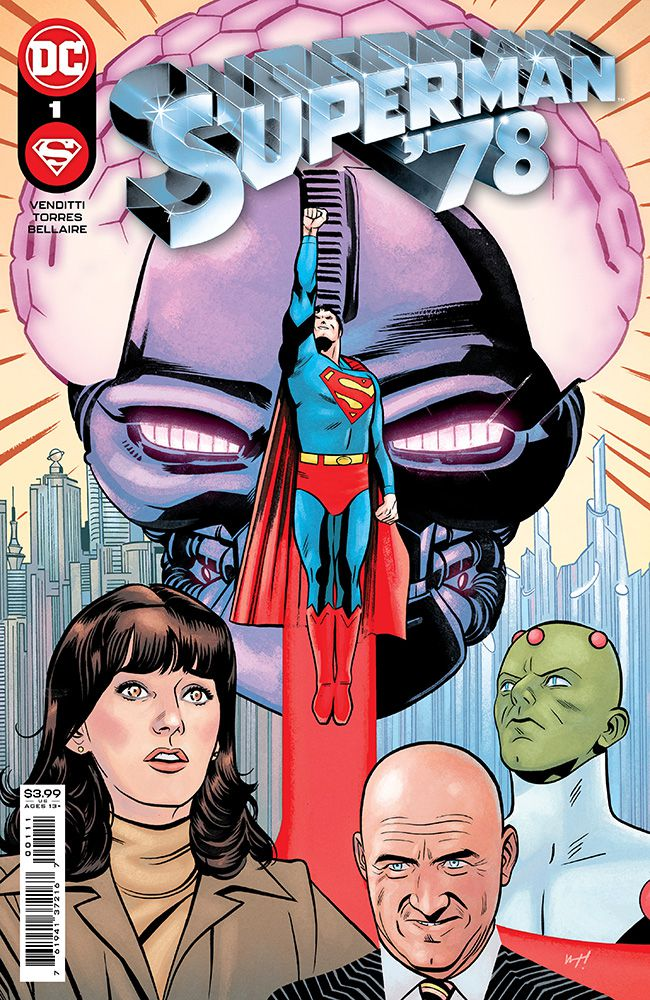 Superman '78 #1 Review   The Aspiring Kryptonian