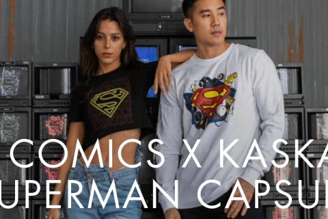 DC Comics X Kaskade Superman Capsule