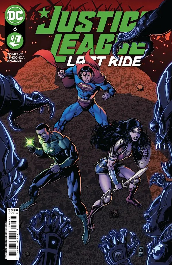 Justice League: Last Ride #6 Review | The Aspiring Kryptonian