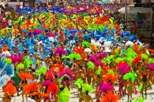 Trinidad Carnival, Queens Park Savannah, Port of Spain, Trinidad & Tobago