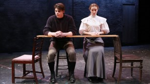 Our Town production at Skidmore College