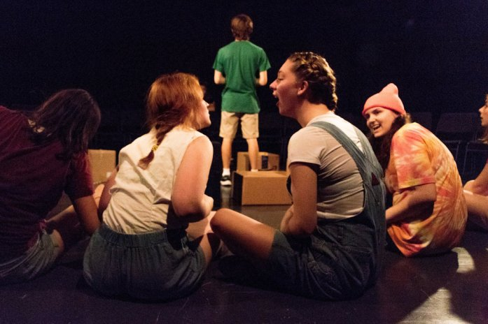 """Fall 2016 Studio Lab #2: """"The Secret in the Wings"""" Skidmore College Theater"""