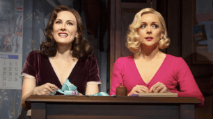 Laura Benanti and Jane Krakowski (Joan Marcus)