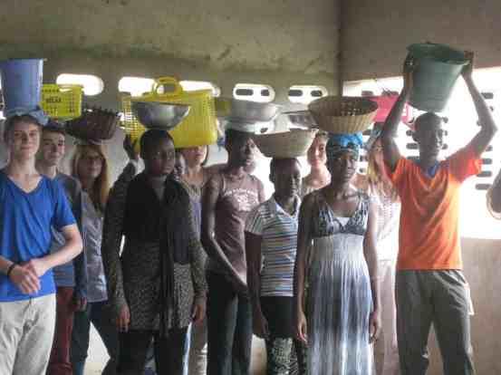 Interkulturelles Jugendtheaterprojekt TTT Afrika - 17