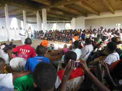 Interkulturelles Jugendtheaterprojekt TTT Afrika - 8