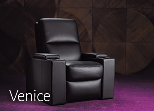home theater seating by Moovia  cinema chairs  media