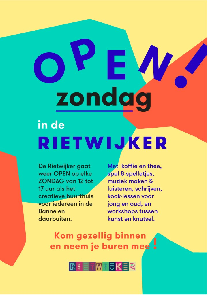 Open flyer A6 both sides