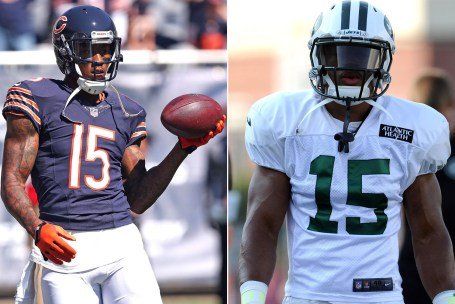 Switching teams is nothing new for Brandon Marshall. (Photo courtesy of the New York Post)