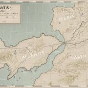 A Map of Atlantis Circa 2156 BC | The Atlantis Project: Atlantis Rising by Jake Parrick.The Atlantis Project Series Atlantis Rising by Jake Parrick Map of Atlantis. The City of Atlantis is on the eastern coast. Epic Fantasy Book One of the Lightbearer Archive.