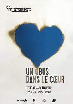 Un Obus Dans Le Coeur : coeur, Coeur, Wajdi, Mouawad,, Scène, Loïc, Puissant,, Theatre-contemporain.net