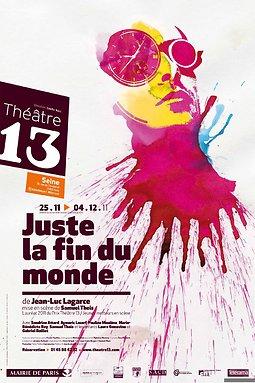Juste La Fin Du Monde Theatre : juste, monde, theatre, Juste, Monde, Jean-Luc, Lagarce,, Scène, Samuel, Theis,, Theatre-contemporain.net