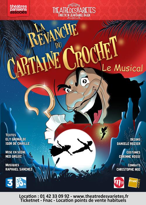 La Revanche Du Capitaine Crochet : revanche, capitaine, crochet, Revanche, Capitaine, Crochet, Théâtre, Variétés