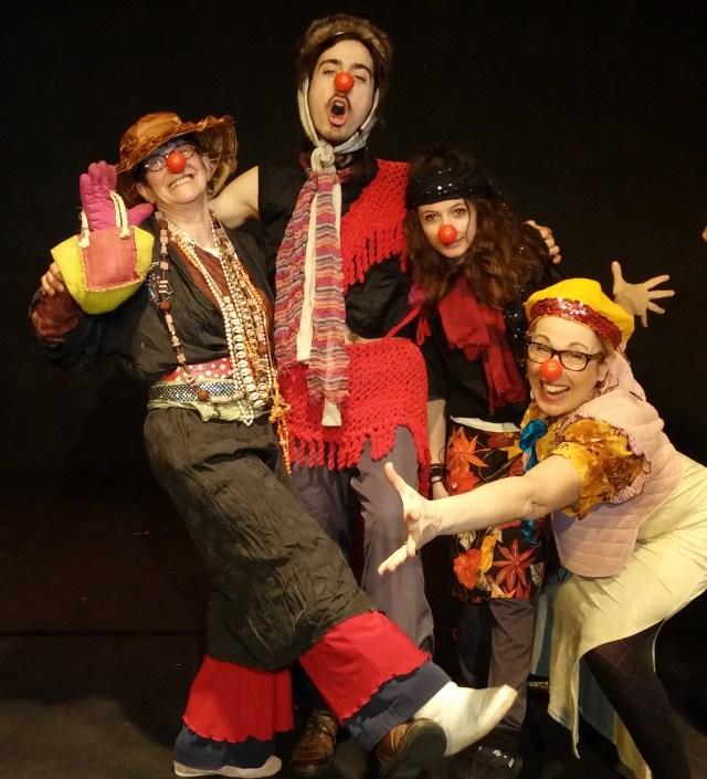 Dimanches sur les planches, Gai Savoir, Théâtre, Clown