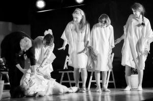 Spectacle Légère en août de Denise Bonal par les éphémères du Gai Savoir