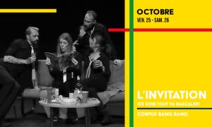 L'invitation de Corpus Bang Bang en octobre au théâtre du Gai Savoir