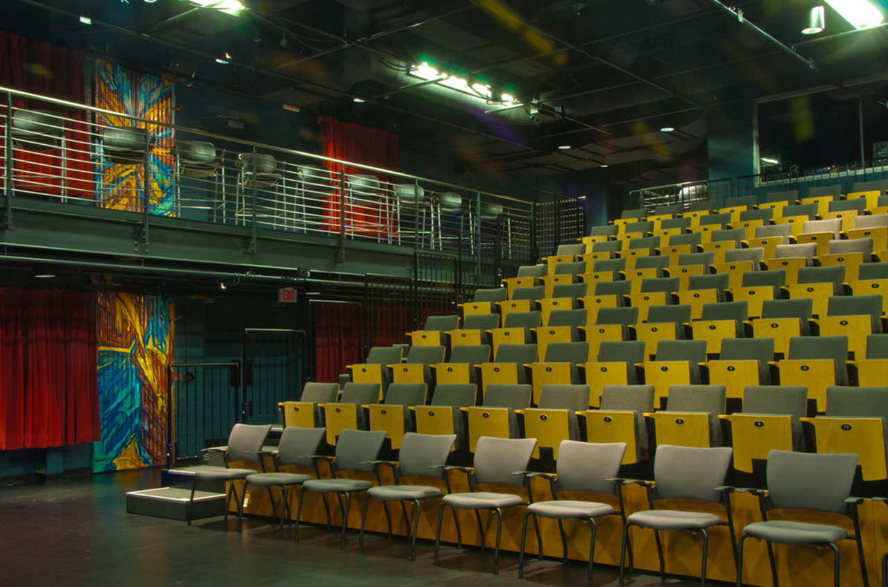 Hanesbrands Theatre at the Milton Rhodes Center for the