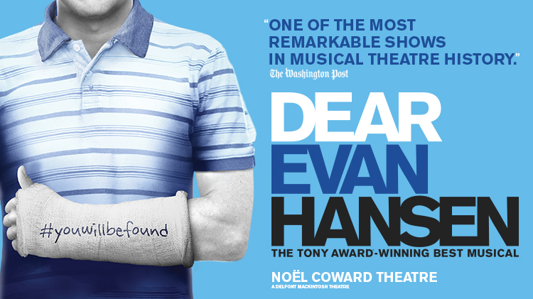 NEW ALLOCATION OF SEATS TO BE RELEASED FOR WEST END DEAR EVAN HANSEN
