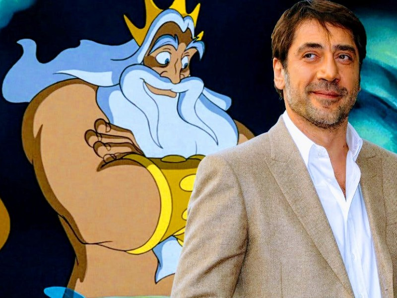 JAVIER BARDEM IN TALKS TO JOIN THE LITTLE MERMAID REMAKE