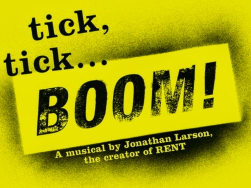 TICK, TICK…BOOM! LONDON FRINGE PRODUCTION ANNOUNCED