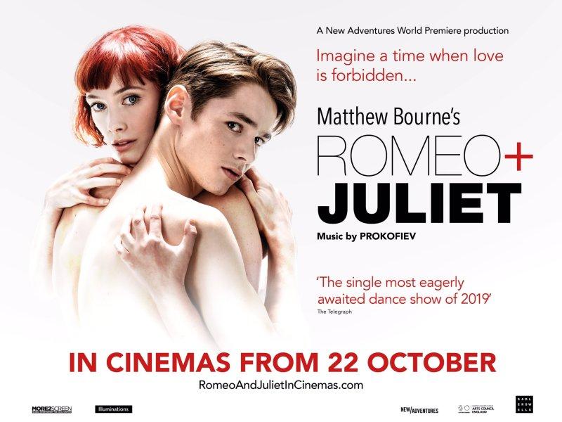 MATTHEW BOURNE'S ROMEO + JULIET CINEMA SCREENING ANNOUNCED