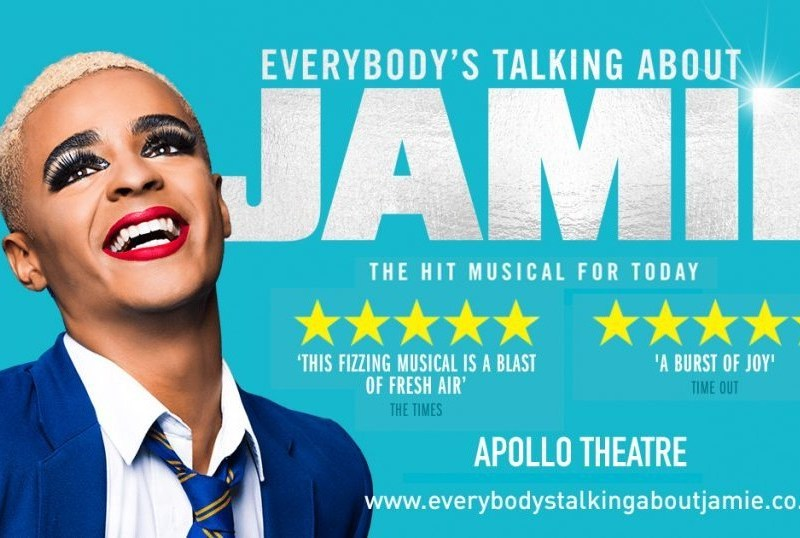 GEORGE SAMPSON & SHOBNA GULATI JOIN EVERYBODY'S TALKING ABOUT JAMIE UK TOUR
