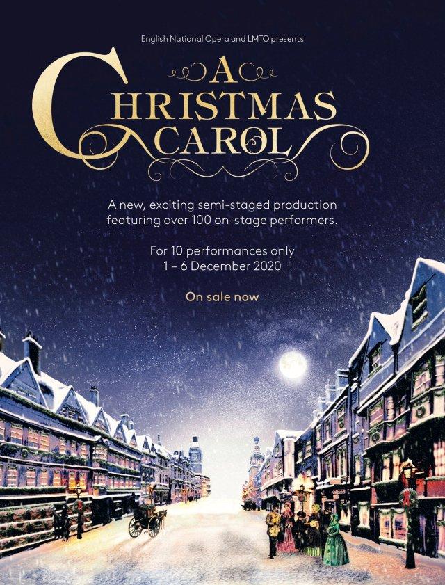 ENO & LMTO ANNOUNCE ALAN MENKEN & LYNN AHRENS A CHRISTMAS CAROL