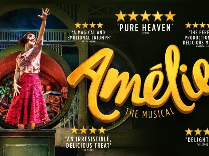 AMÉLIE ORIGINAL LONDON CAST RECORDING RELEASE DATE ANNOUNCED