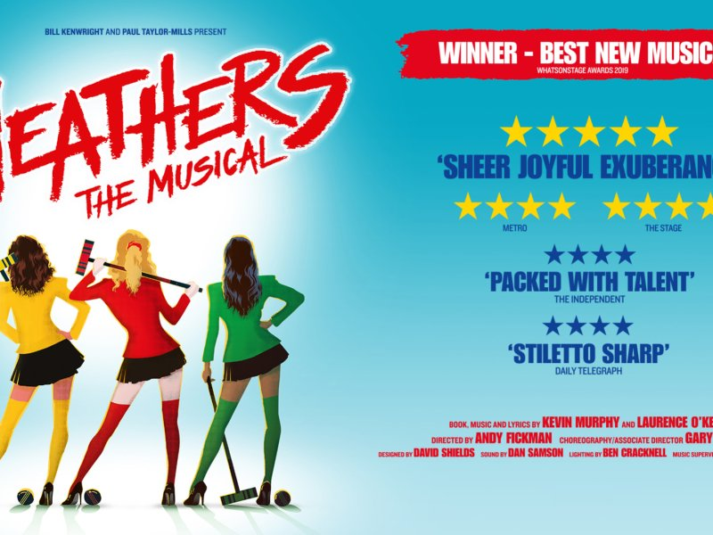HEATHERS UK TOUR INITIAL RESCHEDULED DATES CONFIRMED