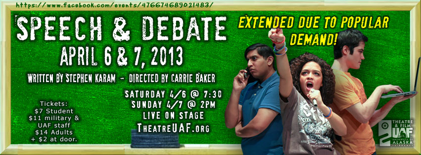 Speech & Debate extended!