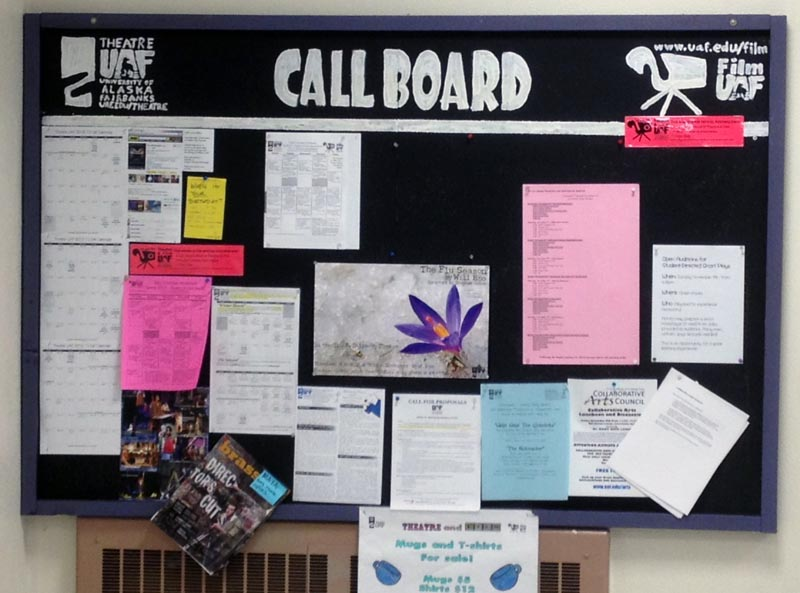 Theatre / Film UAF Callboard