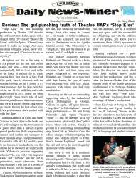 Review from the Fairbanks Daily News-Miner