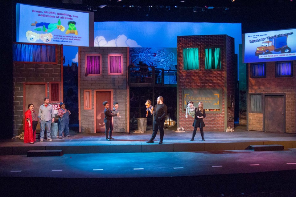 """Avenue Q"" production photo 479"