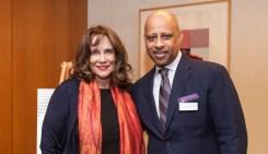 Cathy Gropper and Ruben Santiago-Hudson
