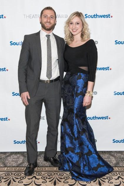 Garrett Einis and Genevieve Pritchard