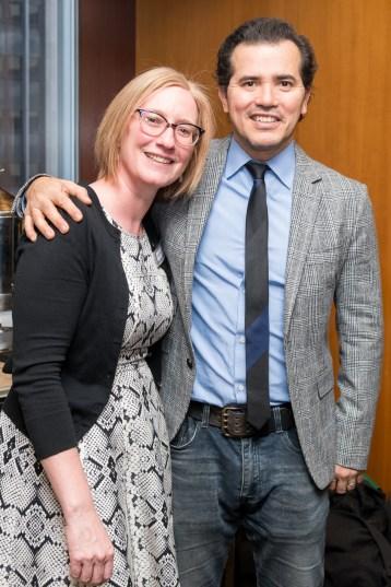 Heather A. Hitchens and John Leguizamo