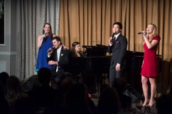 Julia Murney, Zak Resnick, Geraldine Anello, Telly Leung, and Carrie St. Louis