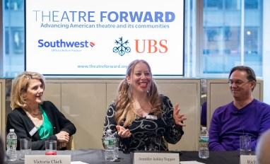 Victoria Clark, Jennifer Ashley Tepper, and Richard Thomas