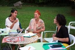 Françoise, Nina et Amandine