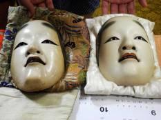 Masks @Oshima Nohgakudo. ©2013 Megan Nicely.