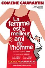La Femme Est Le Meilleur Ami De L Homme : femme, meilleur, homme, FEMME, MEILLEUR, L'HOMME, Comédie, Caumartin, THEATREonline.com