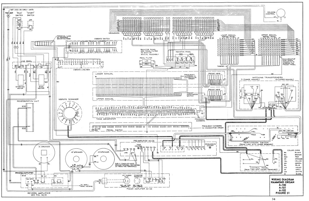 medium resolution of a 100 service manual wiring schematics tablets